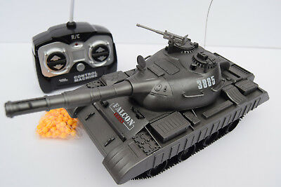 Radio Remote Control Falcon Panzer Bb Tank Bb Bullets Shooting 1:30
