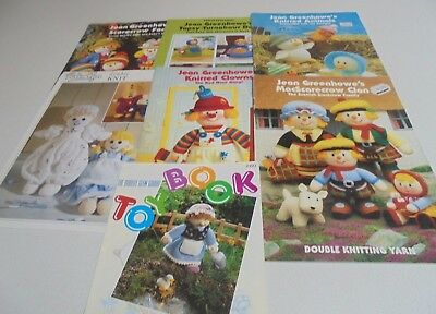 Jean Greenhowe Knitting Pattern Booklets Toy Book Peter Pan Select a Booklet