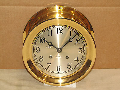 "Chelsea Vintage Ships Bell Clock~6""dial~Circa1962~Restored"