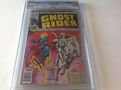 Ghost Rider 50 Cgc 9.8 White Pgs Highest Graded Night Rider Too! Not Cbcs Pgx