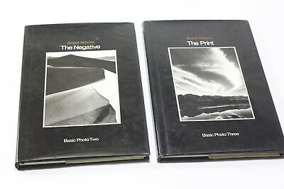 2 Ansel Adams The Print & The Negative Photography Books