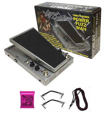 Morley Cliff Burton Tribute Series Power Fuzz Wah Pedal with multiple extras