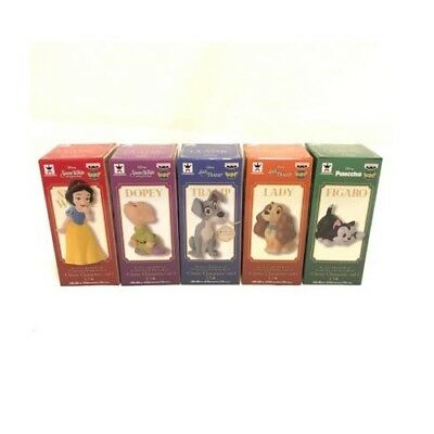 Disney Snow White Lady Figaro Figure set of 5 WCF Classic Characters vol.1 NEW