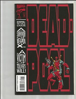 Deadpool The Circle Chase 1 (1994).  EXCELLENT COPY!!   MOVIE!!