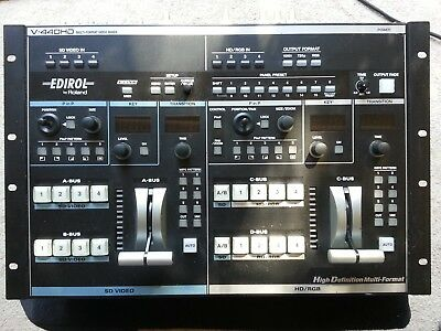 Edirol Roland V-440 HD Video Mixer V440HD V440 HD V-440 HD NTSC. FREE SHIPPING