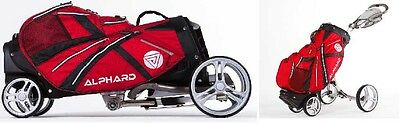 Golf  Buggy & Bag All-in-One - Alphard Duo Cart Deluxe Model