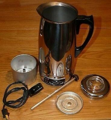 Vintage Philips Electric 9 cups Percolator Model: KB-5507