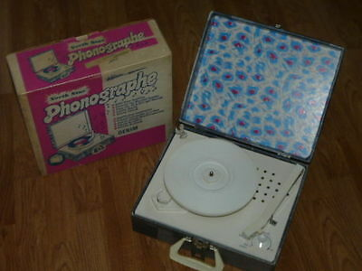 Vintage NORTH STAR Model 155 Phonograph Record Player with Original Box