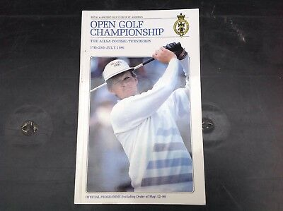1986 British Open Golf Championship - Turnberry - Official Programme