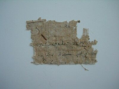 Ancient Antique Rare Old Egyptian - Egypt Mummy Cartonnage Fragment