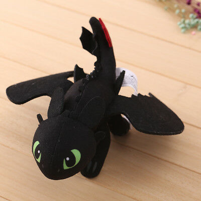 Cotton How To Train Your Dragon Toothless Plush Stuffed Toy Soft Warm Doll 23cm