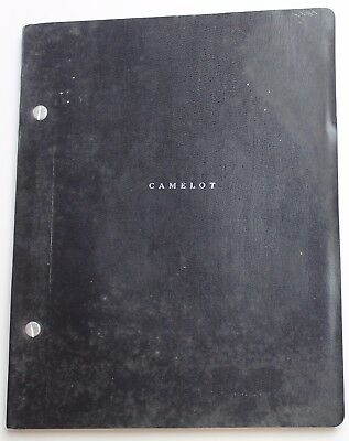 CAMELOT * 1960's-1980's Broadway Musical Script Revival Play *