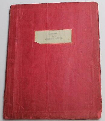MACHINAL * 1928 BROADWAY Expressionist Theatre Script, by Sophie Treadwell