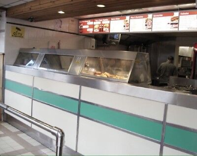 Fish & Chip Shop + Cafe. £3,800 weekly sale