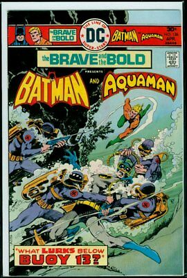 DC Comics The BRAVE And The BOLD #126 BATMAN And AQUAMAN FN/VFN 7.0