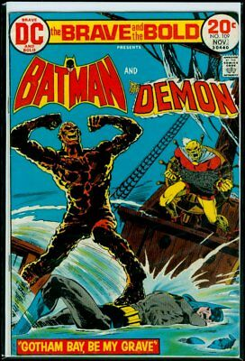 DC Comics The BRAVE And The BOLD #109 BATMAN And The Demon FN/VFN 7.0
