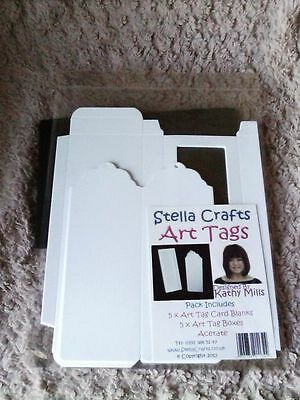 Stella Crafts Art Tags Card Blanks And Boxes