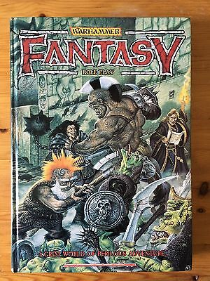 Warhammer Fantasy Role Play - A Grim World Of Perilous Adventure - HARDCOVER