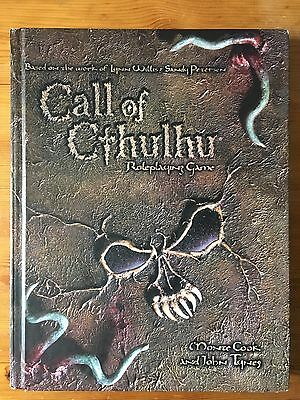 Call of Cthulhu d20 Roleplaying Game - Hardback - Cook Tynes / WIllis Petersen