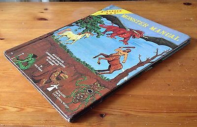 AD&D Advanced Dungeons & Dragons - Monster Manual 1978 - hardback - Gary Gygax