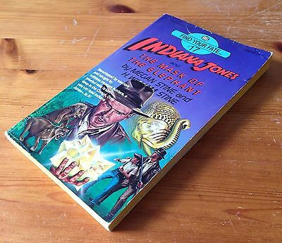 Indiana Jones and The Mask of the Elephant - Find Your Fate 17 - RARE