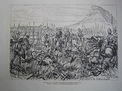 Original Zulu War 1879 Newspaper Illustrations Group Of 30