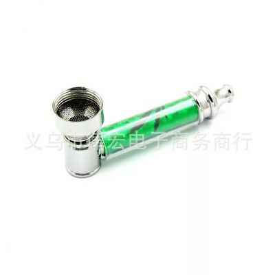 NEW HOT High Quality Metal Pipe Jamaica Rasta Weed / Tobacco / Smoking Pipes