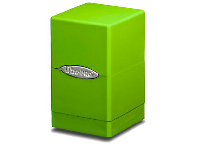 ULTRA PRO - Satin Tower - Lime Green Deck Box