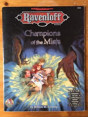 Ravenloft - Champions of the Mists - TSR 9559 - Advanced Dungeons & Dragons