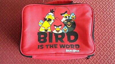 Angry Birds Lunch Box Unused