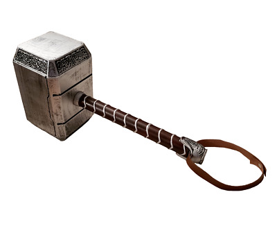 1:1 Thors Mjolnir Hammer SOFT FOAM Cosplay LARP High Quality Halloween Costume