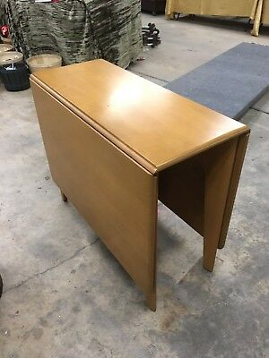 Heywood Wakefield Drop leaf table Local Pickup or send your shipper!