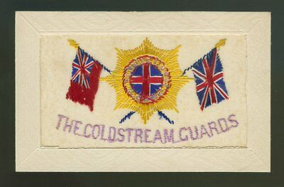 Silk Postcard The Coldstream Guards
