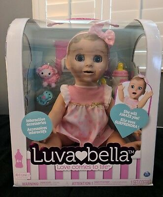 NEW LUVABELLA  Baby Doll - BLONDE HAIR GIRL
