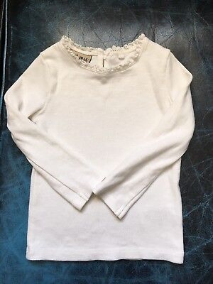 Baby Girls White Long Sleeved Top - NEXT - 12-18months - New