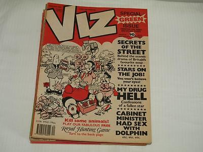 Viz Comic, Issue 40, 1989/90, Intact, Very Good Condition