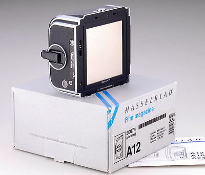Hasselblad 30074 A12 Film Back - Boxed And Mint - 1993 Serial Ep