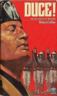 DUCE, The Rise and Fall of Mussolini by Richard Collier (1972 paperback)
