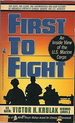 First to Fight (US Marines) by Victor H. Krulak