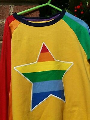 Little Bird  'Colourful star' Long Sleeved Tshirt new season Autumn 2017 5-6