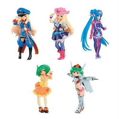 Bandai Half Age Girls - Macross Heroine - Normal color full set 5 pcs