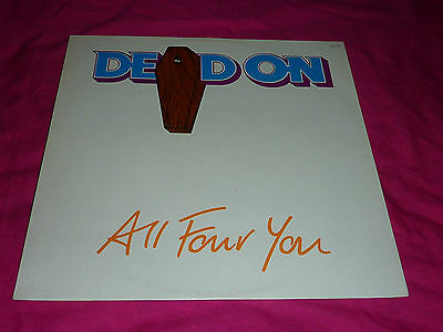 """12"""" Vinyl - Dead On - All Four You Ep (Unplayed)"""