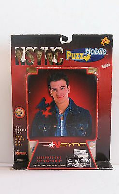 NSYNC - JC Chasez  -Collectible Foam Mobile Jigsaw Puzzle - New