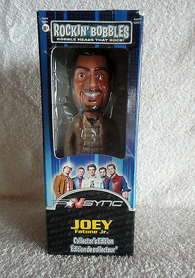 Joey Fatone Jr - N SYNC  Collector's Bobble Head Rockin Bobbles - New