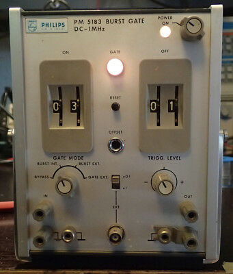 Phillips PM 5183 Burst Gate DC - 1 MHz - Puls Generator