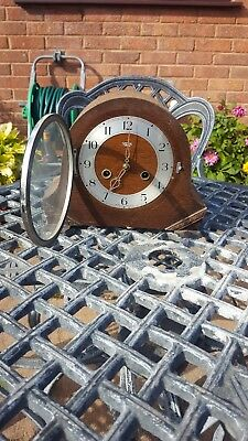 Smiths Enfield 8 Day Striking Mantle Clock Model Not Working.