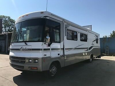 2002 Winnebago Adventure,only 65,638 Miles,2 Slide Outs,generator Works Great,