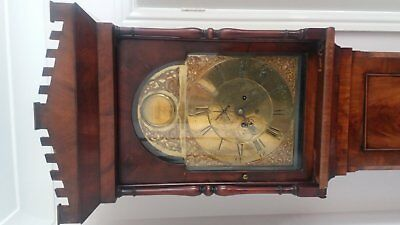 18th Century grandfather clock by renowned clockmaker Alexander Jamieson of Ayr