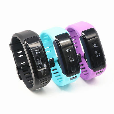 Garmin vivosmart HR Activity Tracker Black Purple blue Regular Size