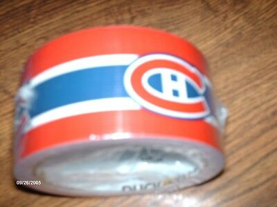 Montreal Canadiens Duck Tape Roll 1.88 inches X 10 Yards